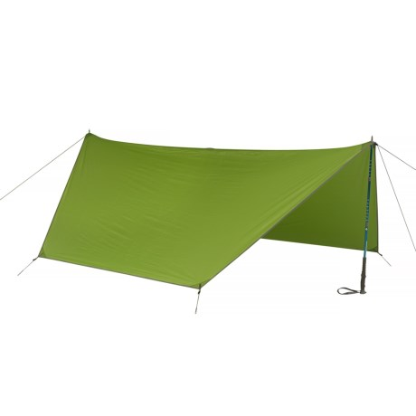 Kelty Upslope Tarp - 2-Person, 3-Season in Green