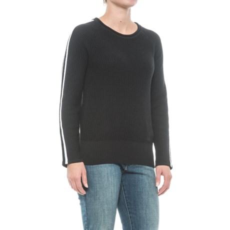 Kenar Race Stripe Sweater (For Women) in Black Thorn/White Sails