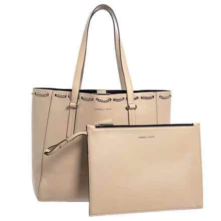 Kendall + Kylie Izzy Chain Tote Bag (For Women) in Cream/Tan - Closeouts