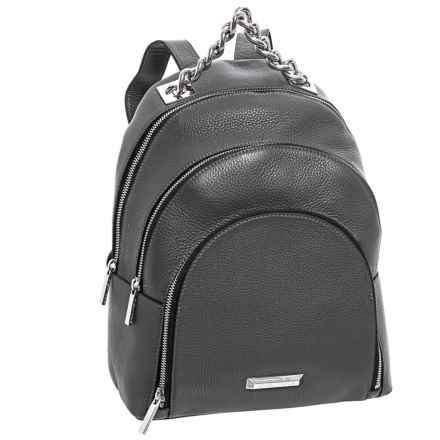 Kendall + Kylie Sloane Backpack - Leather (For Women) in Smokey Grey - Closeouts