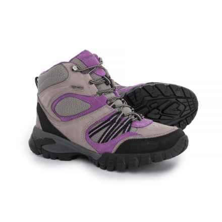 Kenetrek Boots Bridger Ridge High Hiking Boots - Waterproof (For Women) in Lilac - Closeouts