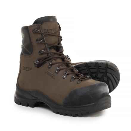 Kenetrek Boots Made in Italy Hardline ST 400 Work Boots - Waterproof, Insulated, Composite Safety Toe (For Men) in Brown - Closeouts