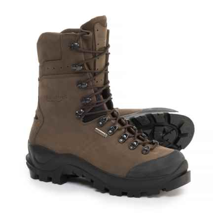Kenetrek Boots Made in Italy Mountain Guide Hiking Boots - Waterproof, Leather (For Men) in Brown - Closeouts