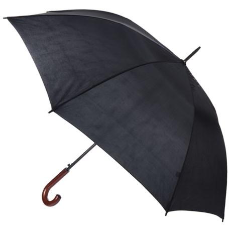 "Kenlo Auto-Open Doorman Stick Umbrella - 50"""
