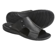 Kenneth Cole All Tide Up Sandals - Leather, Slides (For Men) in Black - Closeouts