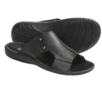 Kenneth Cole All Tide Up Sandals - Leather, Slides (For Men) in Black