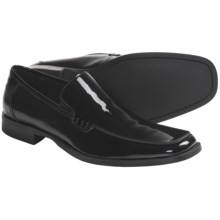 Kenneth Cole Best Man Formal Shoes - Leather, Slip-Ons (For Men) in Black Patent - Closeouts