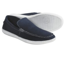 Kenneth Cole Call Shoes - Suede, Slip-Ons (For Men) in Navy - Closeouts