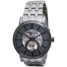 Kenneth Cole Classic Triple Silver Watch (For Men) in Silver/Silver - Closeouts