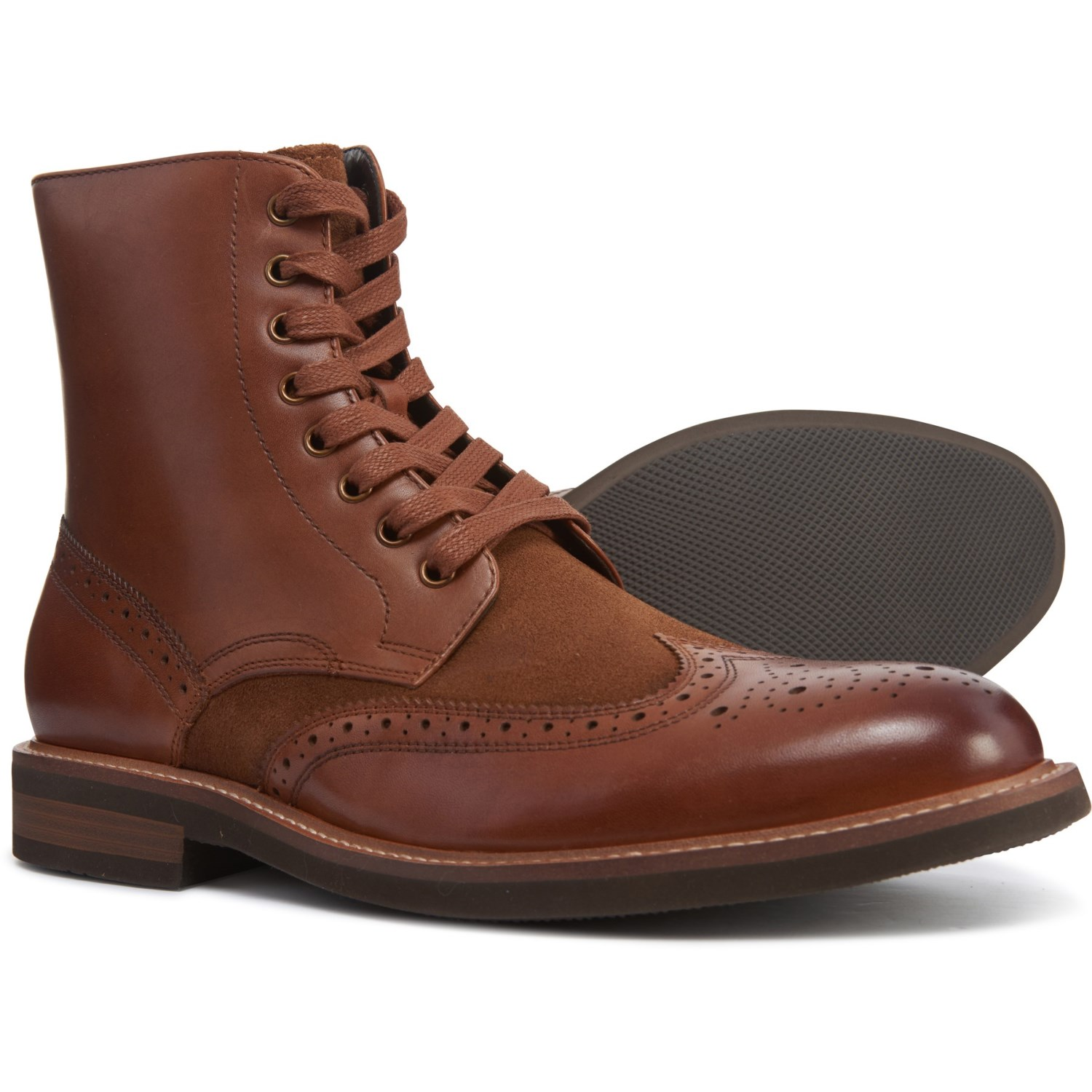 55684fc5 Kenneth Cole Klay Wingtip Boots (For Men) - Save 25%
