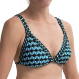 Kenneth Cole Pave the Way Halter Bikini Top (For Women)