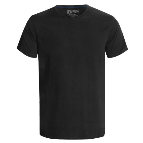 Kenneth Cole Reaction Cotton Crew T-Shirts - 3-Pack, Short Sleeve (For Men) in Black