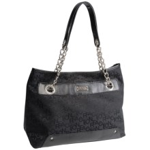 Kenneth Cole Reaction Cute Cousin Jacquard Purse (For Women) in Black/Black - Closeouts