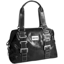 Kenneth Cole Reaction Interconnect Satchel Purse (For Women) in Black - Closeouts