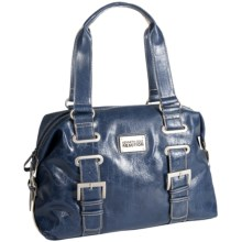 Kenneth Cole Reaction Interconnect Satchel Purse (For Women) in Blue - Closeouts