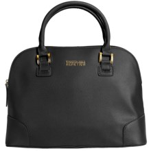 Kenneth Cole Reaction Poppins Large Dome Satchel (For Women) in Black - Closeouts