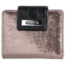 Kenneth Cole Reaction Tab Key Ring Wallet (For Women) in Pewter - Closeouts