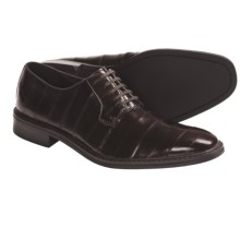 Kenneth Cole Style Guide Formal Shoes - Eel Skin Leather, Oxfords (For Men) in Brown Eel - Closeouts
