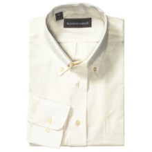 Kenneth Gordon Button-Down Shirt - Long Sleeve (For Men) in Cream - Closeouts