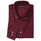 Kenneth Gordon Check Sport Shirt - Button-Down Collar (For Men)