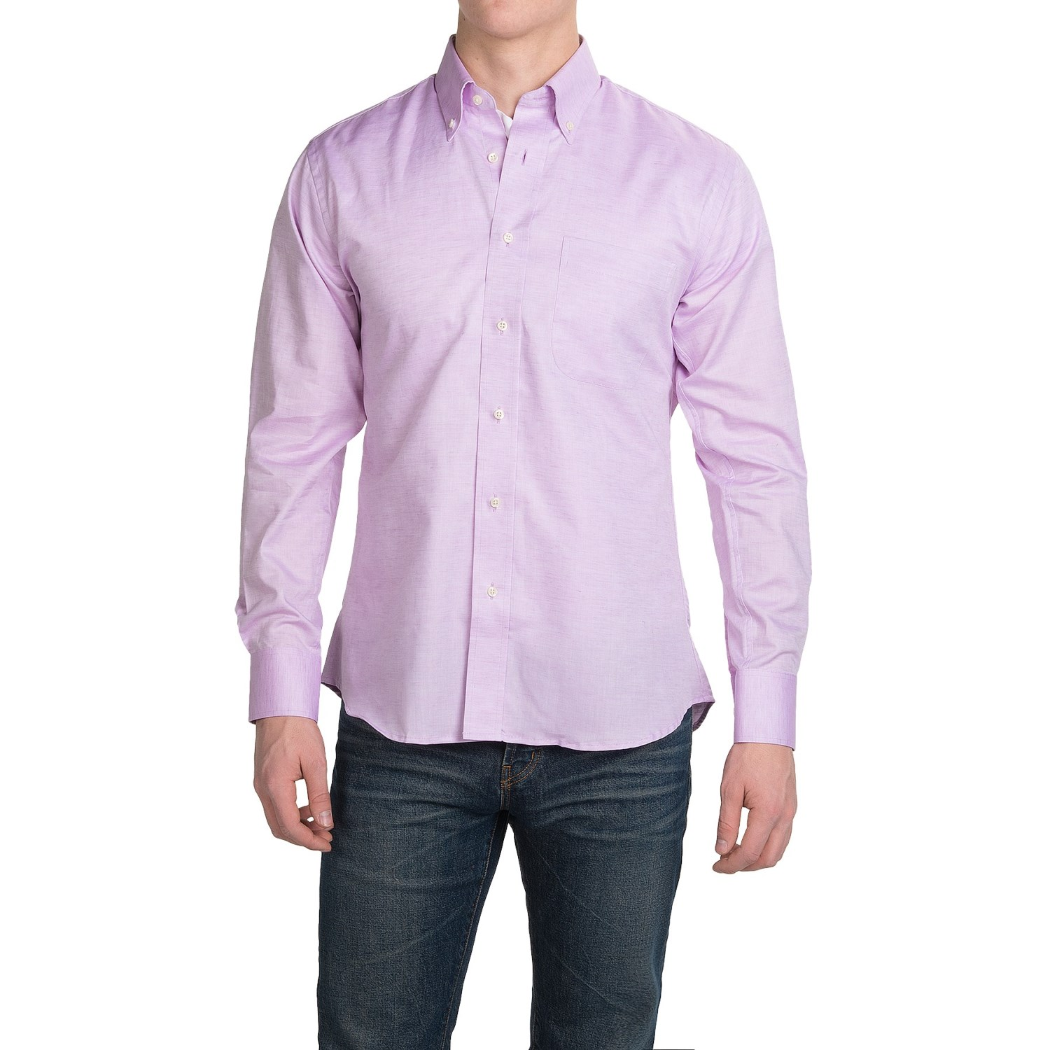 Kenneth gordon cotton sport shirt for men save 76 for Mens button down sport shirts