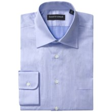 Kenneth Gordon Fancy Dress Shirt - Spread Collar, Long Sleeve (For Men) in Blue - Closeouts