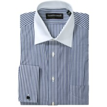 Kenneth Gordon French Cuff Dress Shirt - Contrast Buttons, Long Sleeve (For Men) in Navy - Closeouts