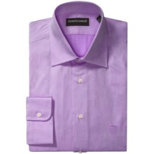 Kenneth Gordon French Front Dress Shirt - Twill, Long Sleeve (For Men) in Purple - Closeouts