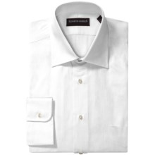 Kenneth Gordon French Front Dress Shirt - Twill, Long Sleeve (For Men) in White - Closeouts