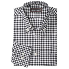 Kenneth Gordon Multi-Check Shirt - Long Sleeve (For Men) in Black/White - Closeouts