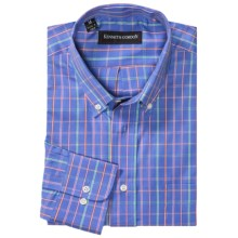 Kenneth Gordon Multi-Check Shirt - Long Sleeve (For Men) in Blue - Closeouts