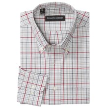 Kenneth Gordon Multi-Check Shirt - Long Sleeve (For Men) in Grey - Closeouts