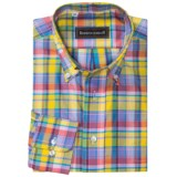 Kenneth Gordon Multi-Plaid Sport Shirt - Button-Down, Long Sleeve (For Men)