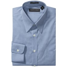 Kenneth Gordon Non-Iron Cotton Dress Shirt - Long Sleeve (For Men) in Blue - Closeouts