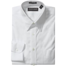 Kenneth Gordon Non-Iron Cotton Dress Shirt - Long Sleeve (For Men) in White - Closeouts