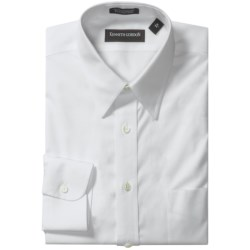 Kenneth Gordon Non-Iron Cotton Dress Shirt - Long Sleeve (For Men) in White