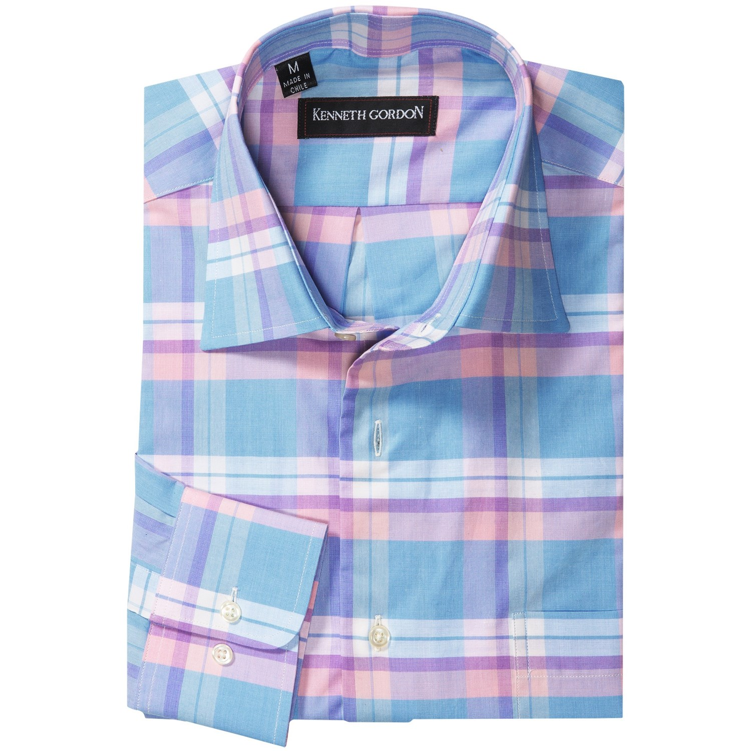 Kenneth Gordon Patterned Dress Shirt For Men Save 85