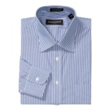 Kenneth Gordon Pinpoint Stripe Dress Shirt - Cotton, Wrinkle-Free, Long Sleeve (For Men)