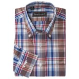 Kenneth Gordon Plaid Sport Shirt - Button-Down Collar, Long Sleeve (For Men)