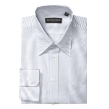Kenneth Gordon Stripe Dress Shirt - Cotton, Long Sleeve (For Men) in Grey - Closeouts