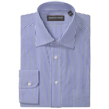 Kenneth Gordon Stripe Dress Shirt - Spread Collar, Long Sleeve (For Men) in Blue - Closeouts
