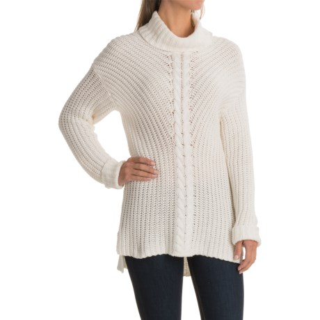 Kensie Cowl Neck Sweater (For Women) in Ivory