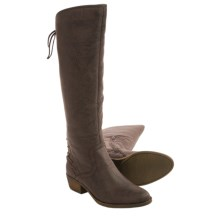 Kensie Garvey Back-Lace Boots (For Women) in Brown - Closeouts