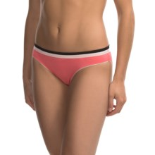 Kensie Hannah Bikini Panties (For Women) in Coral - Closeouts