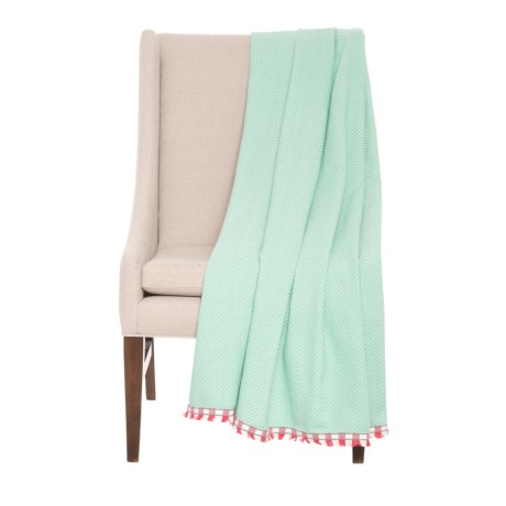 """Kensie Marconi Throw Blanket - 50x60"""" in Blue"""