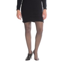 Kensie Sheer Tights - Control Top (For Women) in Black - Closeouts