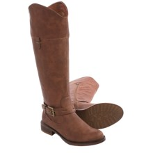 Kensie Stefanie Riding Boots (For Women) in Brown - Closeouts