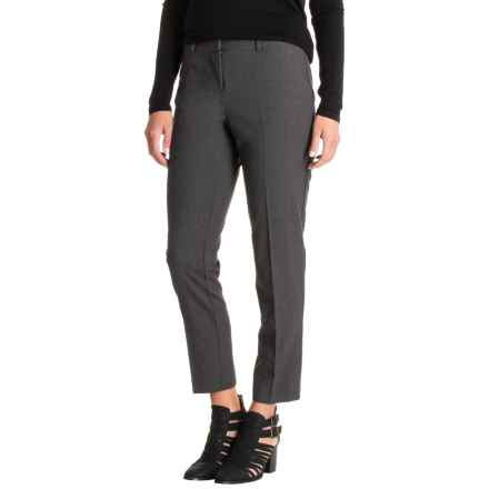 Kensie Straight-Leg Pants (For Women) in Heather Dark Gray - Closeouts