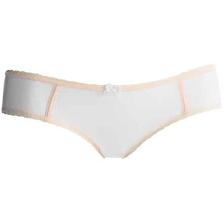 Kensie Zoe Hipster Panties - Briefs (For Women) in White - Closeouts