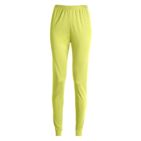 Kenyon Base Layer Bottoms - Polartec® (For Women) in Light Yellow